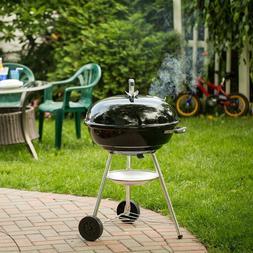 "Weber Jumbo Joe Premium 22"" Black Charcoal Grill Barbecues S"
