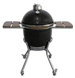 Kamado Charcoal Barbecue Egg Grill and Smoker Ceramic Brique