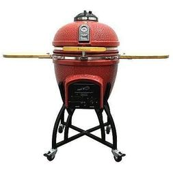 Kamado Vision Charcoal Grill BBQ - FREE Shipping FREE Grilli