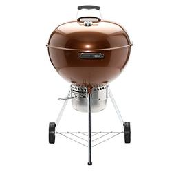 Weber Original Kettle Premium 22 in. Charcoal Grill in Coppe