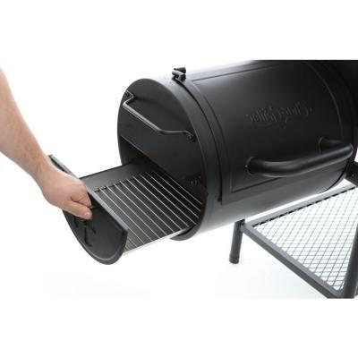 Char-Griller Smokin' Champ Charcoal in Black