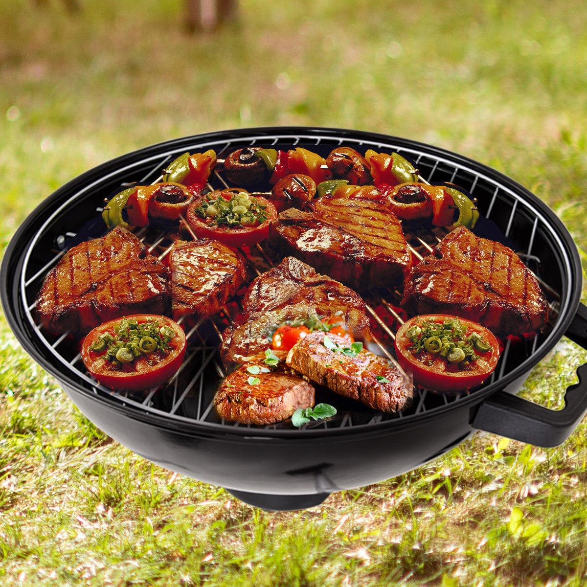 18.5-Inch BBQ with Wheels Black