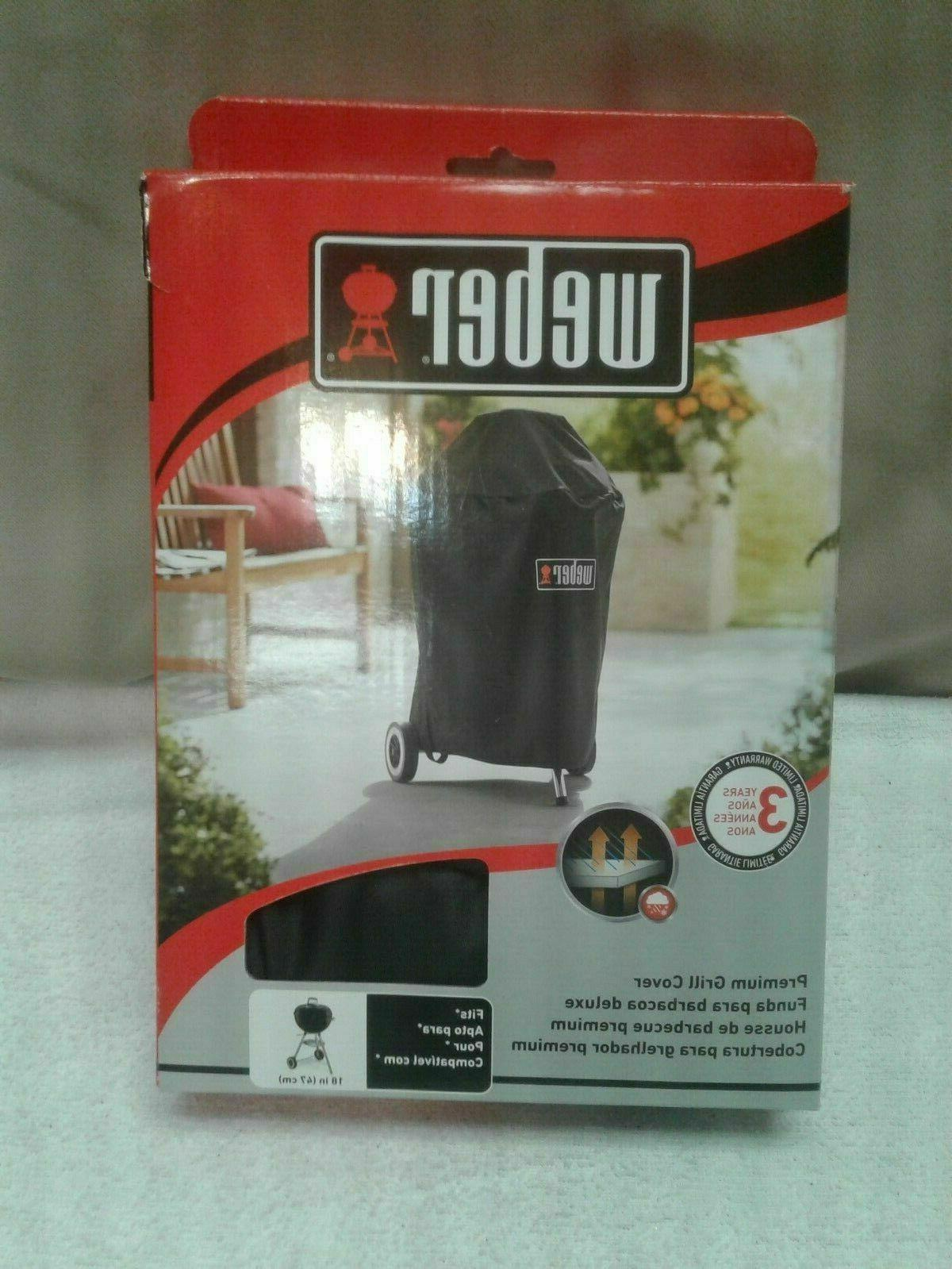 18 in charcoal grill cover premium kettle