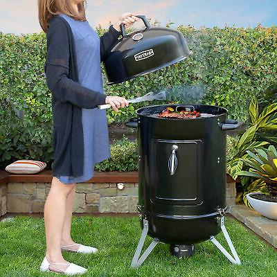 """18"""" inch Charcoal Bullet Smoker BBQ Grill Outdoor Vertical P"""