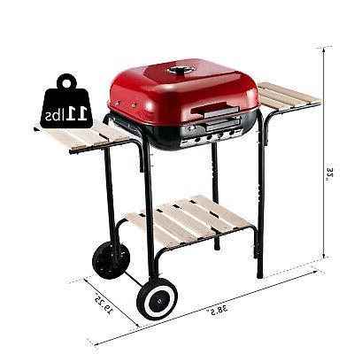 """19"""" Steel Outdoor Grill"""