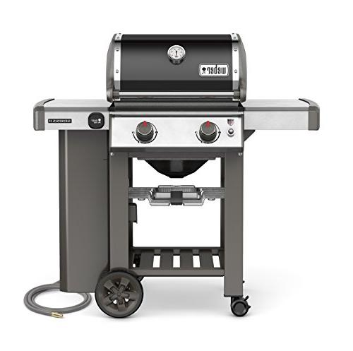 2-Burner Natural Gas Grill Black Built-In Thermometer WEBER