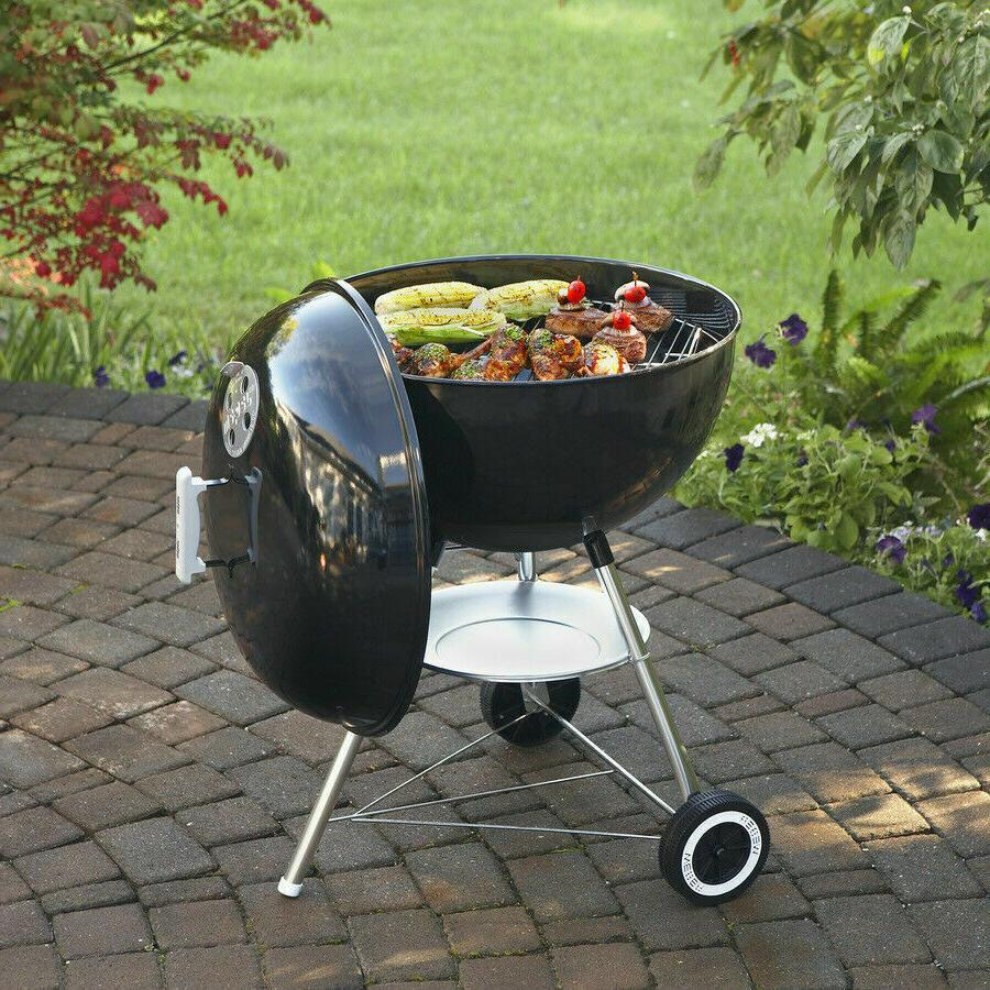 Weber 22 In. Original Kettle Charcoal Grill Outdoor