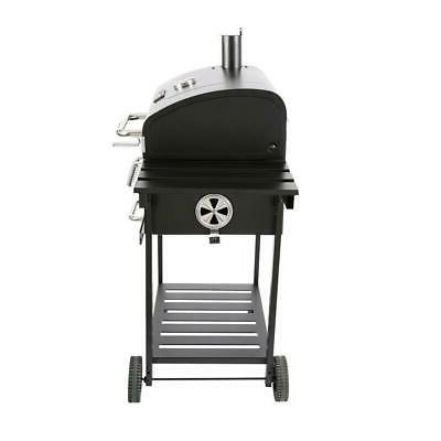 Charcoal BBQ Grill Black with