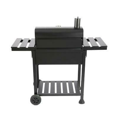 Royal Gourmet 23 Charcoal BBQ Grill in Black 2-Side