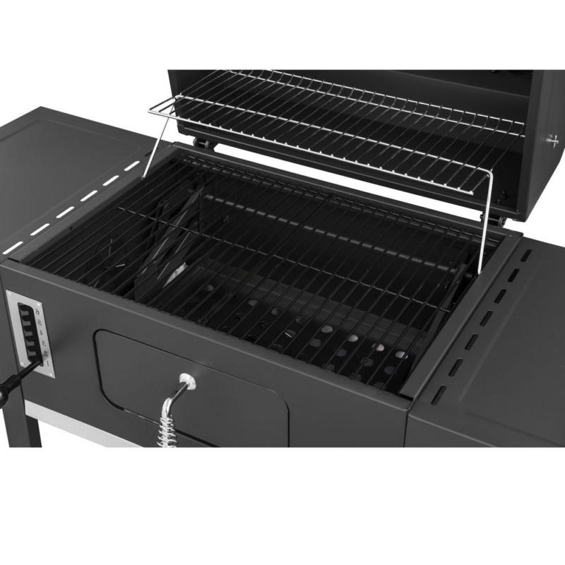 24 In. Grill In 2-Side Table