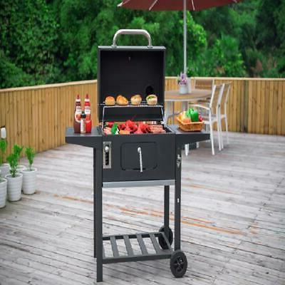 24-Inch Charcoal Grill Sq BBQ Cooking