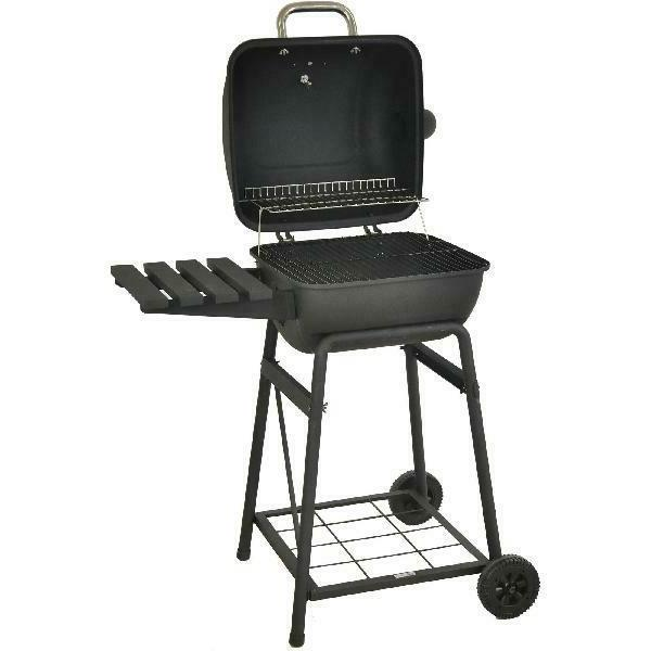 Outdoor BBQ Grill Charcoal Pit Patio Backyard Meat Cooker Sm