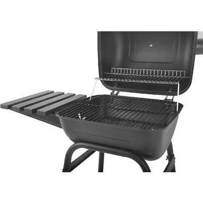 "Outdoor 26""Charcoal New Mini Barrel With Shelf Barbecue"