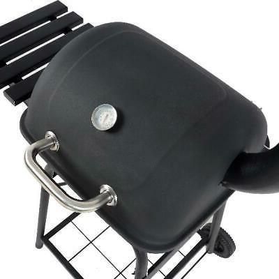 """26"""" Mini Grill Side Shelf Outdoor Patio Barbecue"""