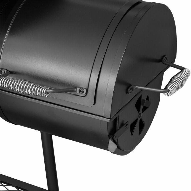Grill with Offset Black Ship