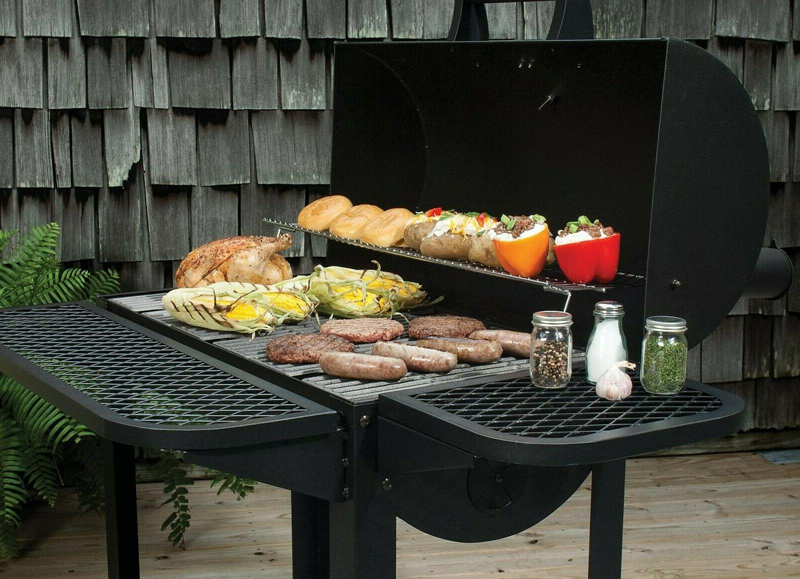 """35"""" Outdoor BBQ Cooking Wheeled"""