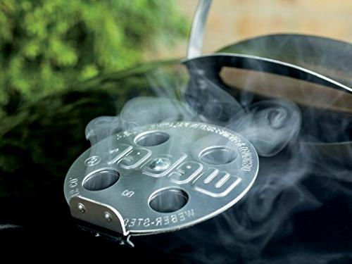 Weber Original Premium Grill, 22-Inch, Black