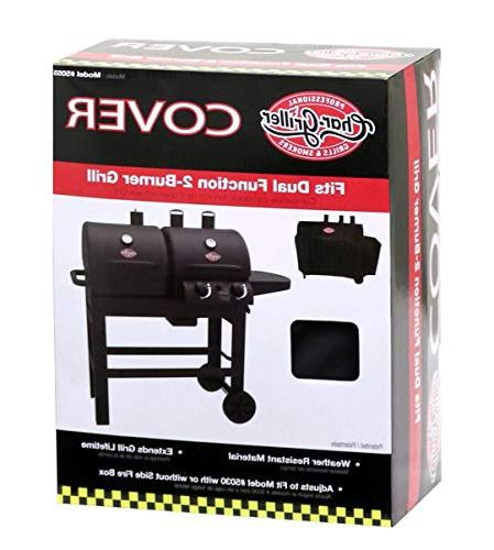 Char-Griller Grill Fits Dual Function 2 Burner Gas-and-Charcoal Grill