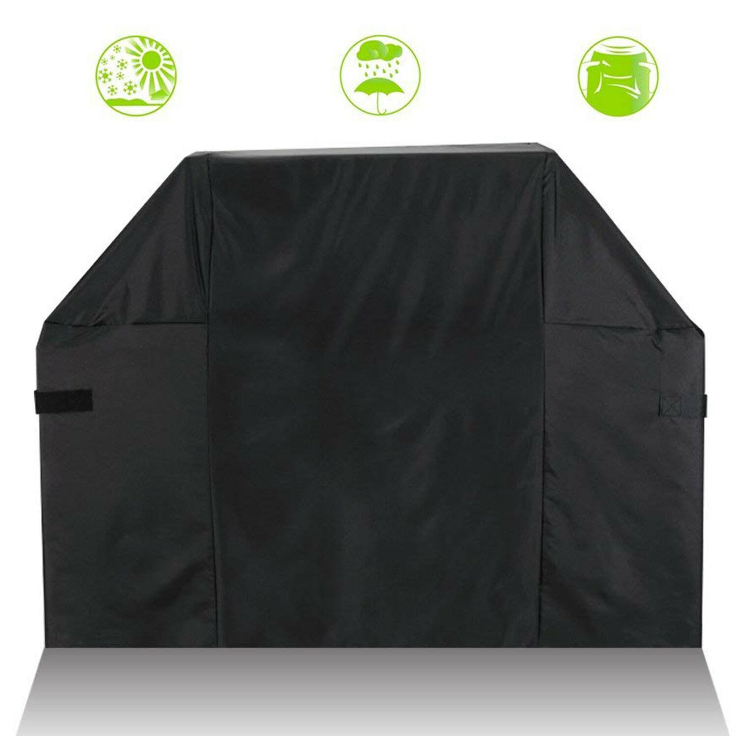 """52"""" to 58"""" Inch Grill Cover Heavy Duty Waterproof for Weber"""