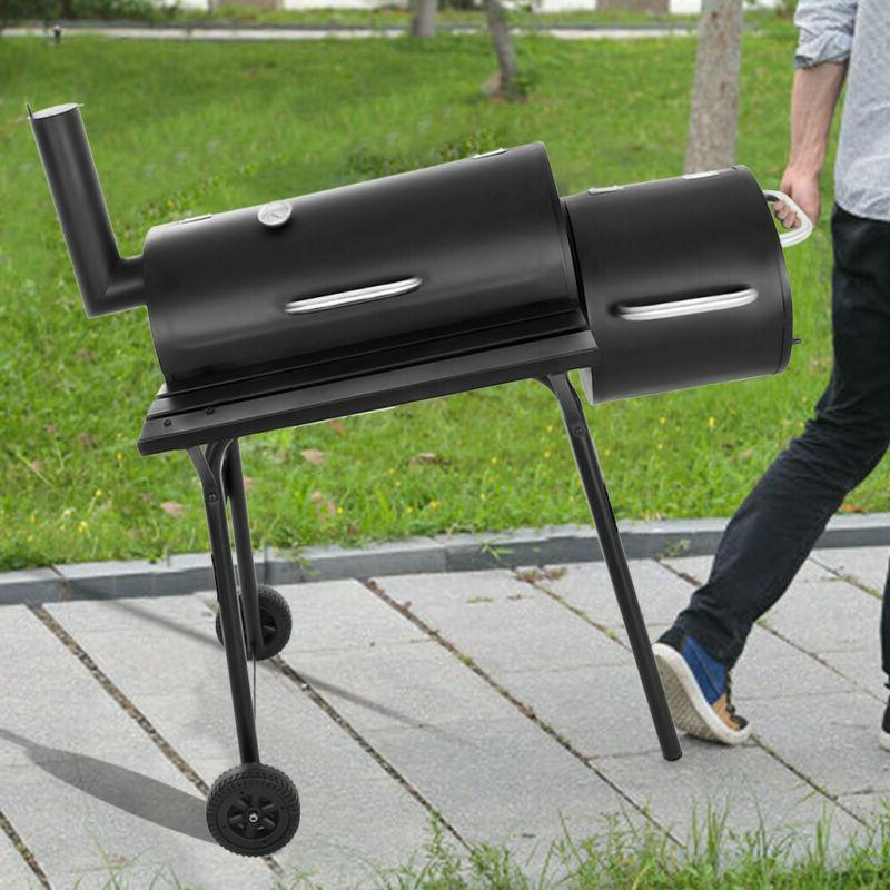 90cm Backyard Charcoal BBQ Offset