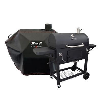 Dyna Glo Heavy Black Outdoor Cooking Black Cover