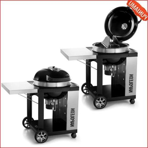 Pro Cart Rodeo Charcoal Kettle Grill by Napoleon Grills w/ G