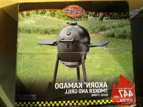 akorn kamado charcoal kooker