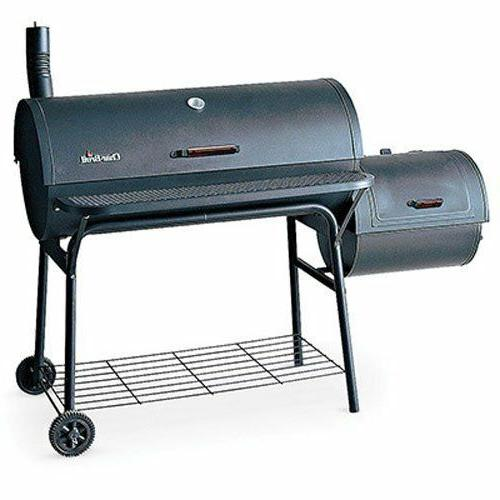 Char-Broil American Gourmet Offset Smoker Deluxe 3-in-1 smok