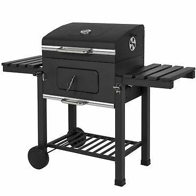barbecue charcoal grill smoker backyard