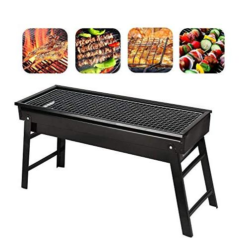 barbecue charcoal grill stainless steel