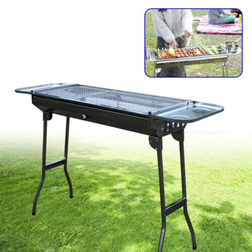 portable grill charcoal bbq folding barbecue shish