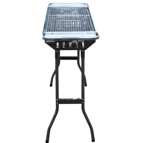 Portable Charcoal Folding Shish Stove Outdoor
