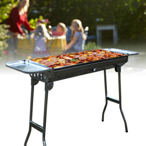 Portable Charcoal BBQ Folding Barbecue Stove