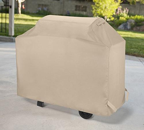 SunPatio Inch, Outdoor Grill Cover, BBQ Weather Protection Weber Char-Broil Nexgrill Beige