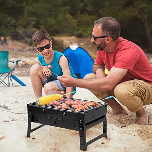 Uten Barbecue Charcoal Folding Lightweight Tools for Outdoor Backpacking