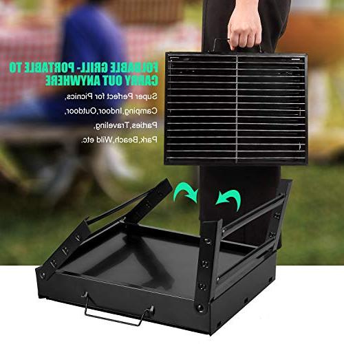 Uten Barbecue Grill Folding Portable Tools Outdoor Camping Backpacking