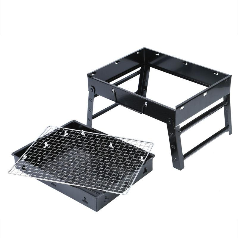 New Fold Charcoal Garden Outdoor Party Black