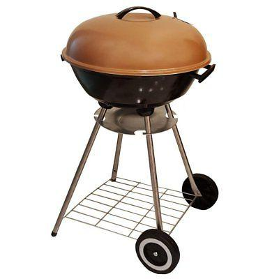 bbq charcoal kettle grill 18 moving wheels