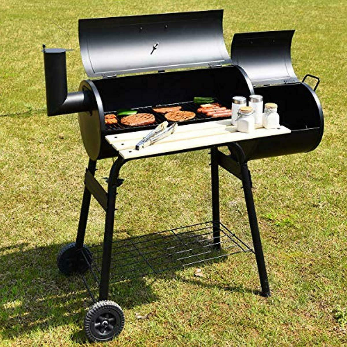 Giantex Grill Charcoal Barbecue Grill Outdoor Patio Backyard Home Meat