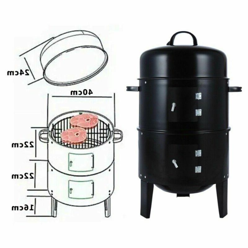 BBQ Grill Charcoal Outdoor Backyard Home Meat