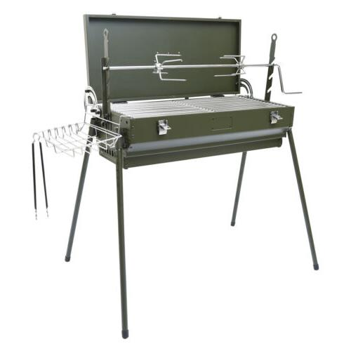 BBQ Grill Charcoal Barbecue Outdoor Party Pit Patio Backyard