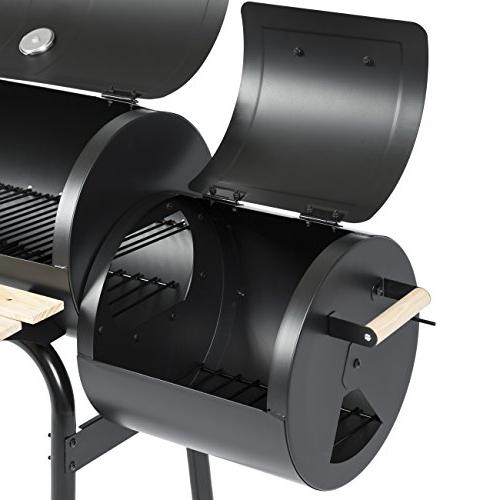 Best Choice Products Grill Barbecue Backyard Meat Smoker