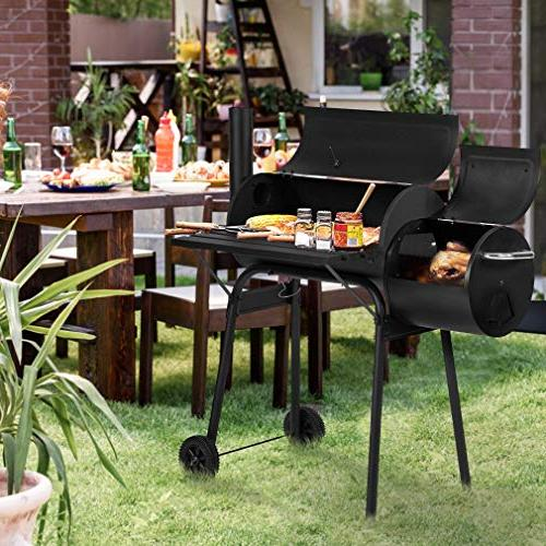BBQ Grill Charcoal Home Process Black