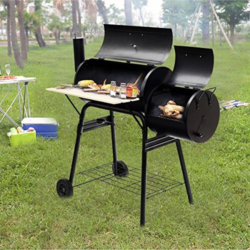 Giantex Barbecue Patio Backyard Meat Cooker Smoker