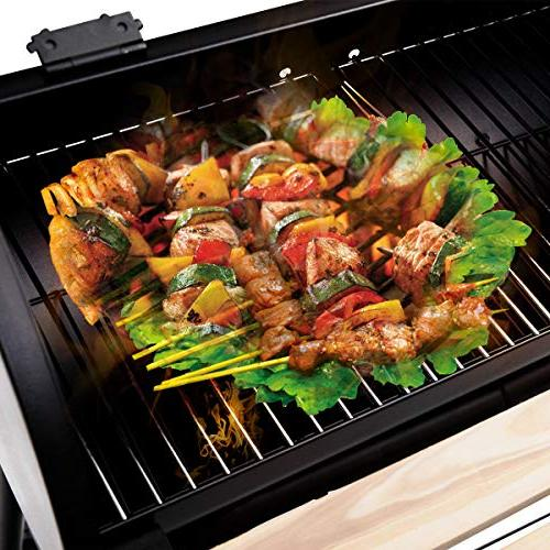 Giantex BBQ Grill Barbecue Outdoor Patio Backyard Home Meat Cooker Smoker