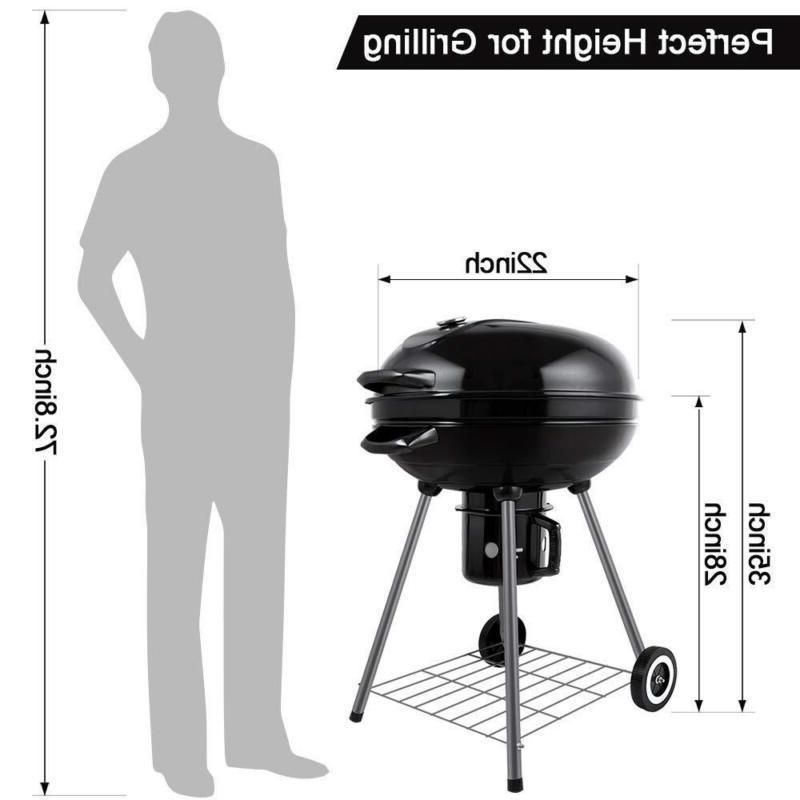 BEAU JARDIN Portable BBQ