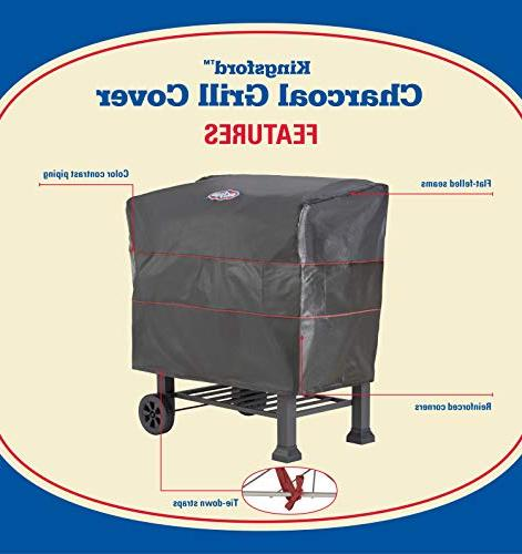 """Kingsford Black 24"""" Charcoal Grill Cover"""