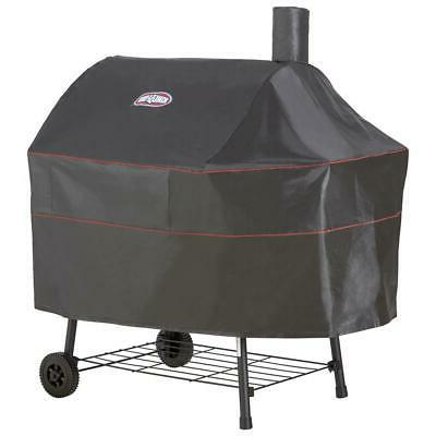 black charcoal grill cover