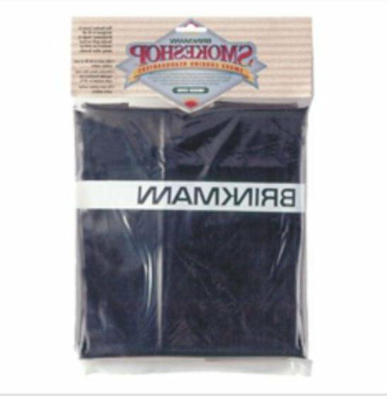 Brinkmann Vertical Upright Black Vinyl Smoker Cover 812-3321