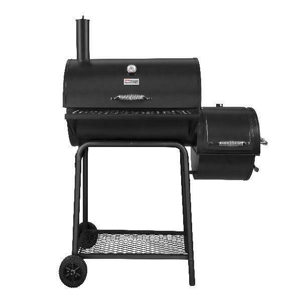 Royal Gourmet CC1830F Charcoal Grill with Offset Smoker, 800